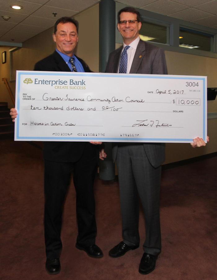 Enterprise Bank Donation